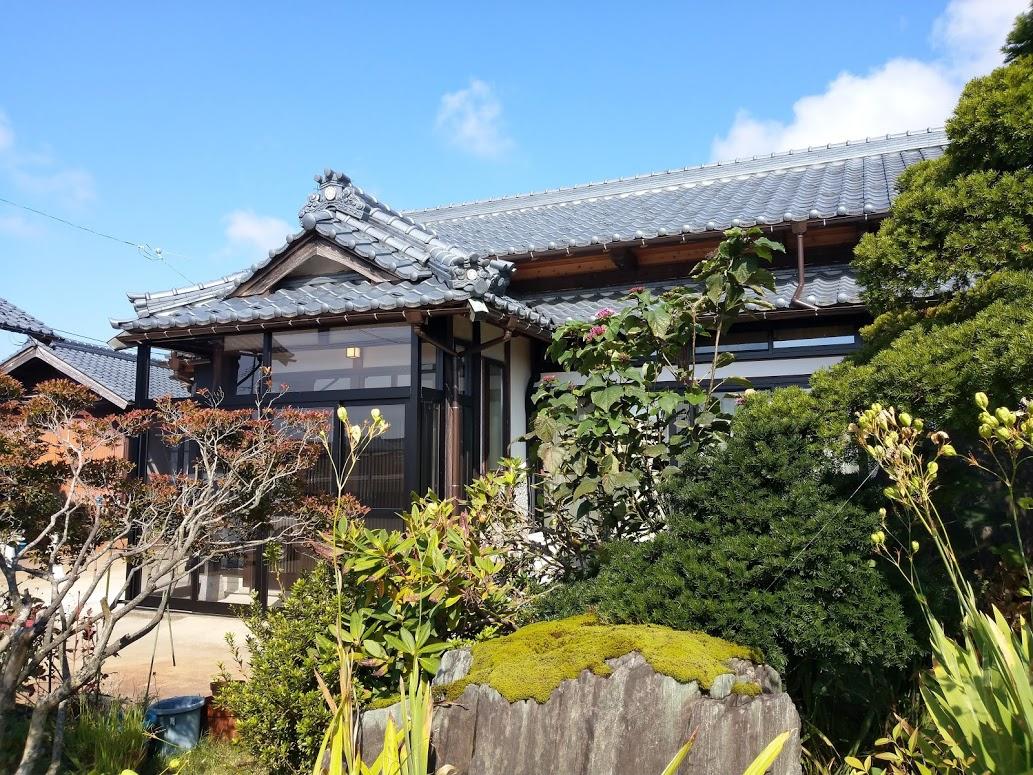 築50年以上の純日本家屋の減築リノベーションをしました。